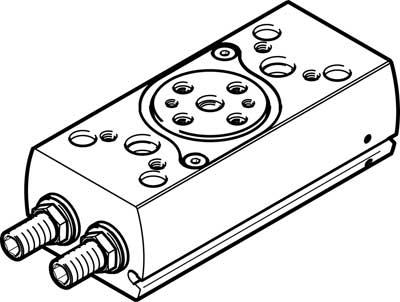 Неполноповоротный привод Festo DRRD-12-180-FH-PA