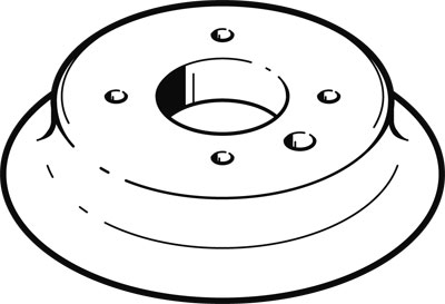Присоска вакуумная стандартная круглая Festo ESV-80-SS