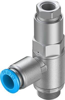Управляемый обратный клапан Festo HGL-1/4-QS-8