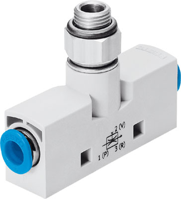 Эжектор базовый вакуумный пневматический Festo VN-14-H-T4-PQ2-VA5-RQ3