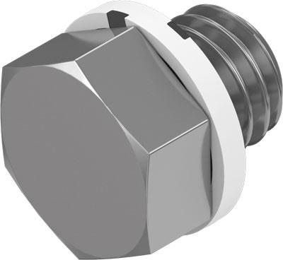 Заглушка резьбовая Festo B-M5 (комплект 10 шт)