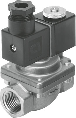 Клапан с электроуправлением Festo VZWP-L-M22C-G38-130-3AP4-40