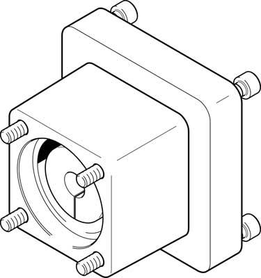 Осевой набор Festo EAMM-A-D100-140A
