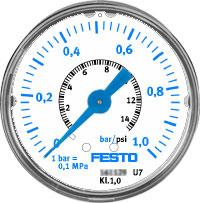 Прецизионный манометр Festo MAP-40-1-1/8-EN