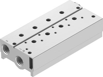 Плита для блочного монтажа Festo VABM-B10-25S-G38-3-P3