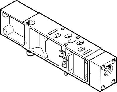 Вертикальная плита питания воздухом Festo VABF-S4-1-P1A14-N14