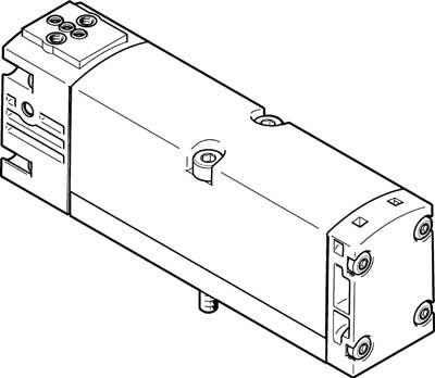 Базовый распределитель Festo VSVA-B-M52-M-A1-P1
