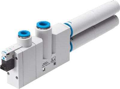 Эжектор базовый вакуумный электро-пневматический Festo VN-30-H-T6-PQ4-VQ5-RO2-M