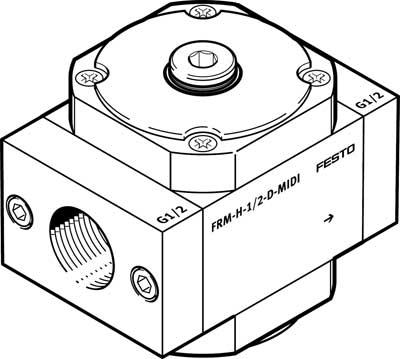 Модуль разветвления Festo FRM-H-1/4-D-MINI