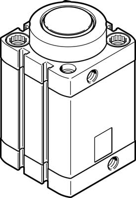 Стопорный цилиндр Festo DFSP-50-30-DS-PA