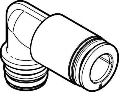 Картридж цанговый угловой Festo QSPLKG14-8 (комплект 10 шт)