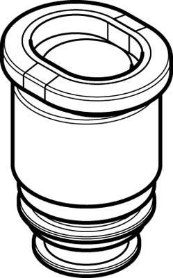 Картридж цанговый прямой Festo QSP10-6 (комплект 10 шт)
