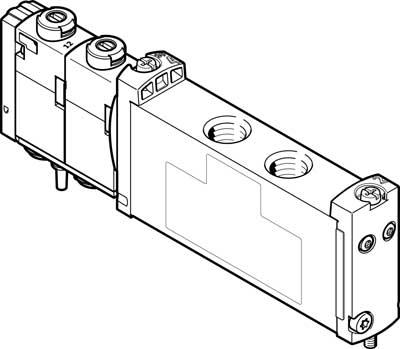 Распределитель с электроуправлением Festo VUVG-S14-B52-ZT-G18-1T1L