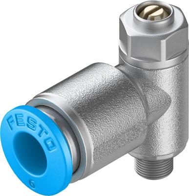 Дроссель с обратным клапаном Festo GRLZ-M5-QS-6-D