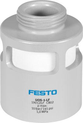 Глушитель алюминиевый резьбовой Festo UOS-1-LF