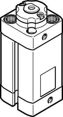 Стопорный цилиндр Festo DFSP-Q-20-20-DF-PA