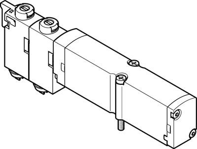 Распределитель с электроуправлением Festo VMPA14-M1H-J-PI