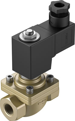 Клапан с электроуправлением Festo VZWF-B-L-M22C-G38-135-E-1P4-10