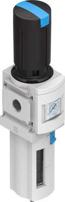 Фильтр-регулятор давления Festo MS6-LFR-1/2-D6-ERV-AS