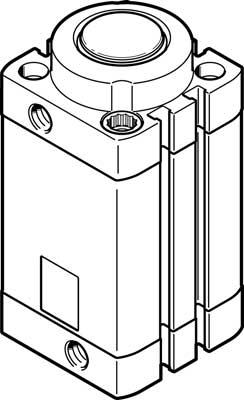 Стопорный цилиндр Festo DFSP-40-30-DS-PA
