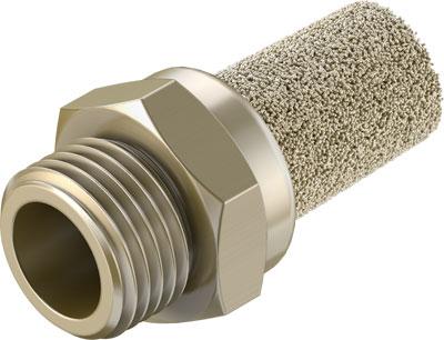 Глушитель латунный резьбовой Festo AMTE-M-LH-G18