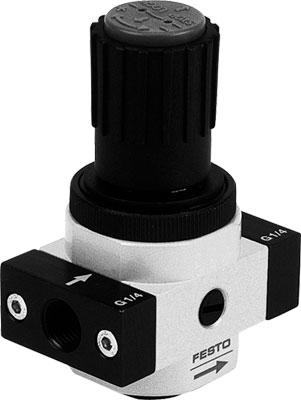 Регулятор давления Festo LR-1/2-D-O-I-MIDI