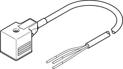 Соединительный кабель Festo NEBV-A1W3F-P-K-0.6-N-LE3
