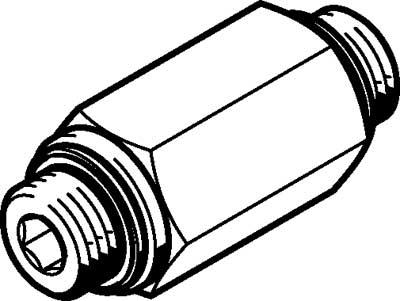 Обратный клапан Festo H-1/4-B
