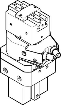 Модуль линейно-поворотный Festo HGDS-PP-20-YSRT-A-B