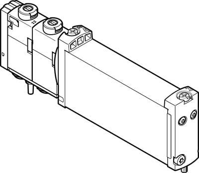 Распределитель с электроуправлением Festo VUVG-B14-P53E-ZT-F-1T1L