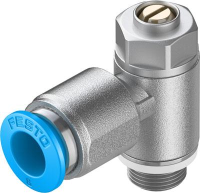 Дроссель с обратным клапаном Festo GRLZ-1/8-QS-8-D