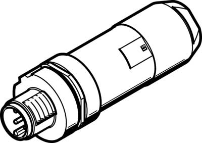 Штекер Festo NECU-M-S-A12G4-IS