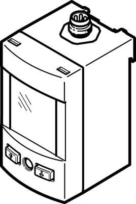 Датчик давления Festo SPAU-P10R-H-G18FD-L-PNLK-PNVBA-M12U