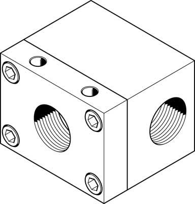 Клапан быстрого выхлопа Festo SE-3/4