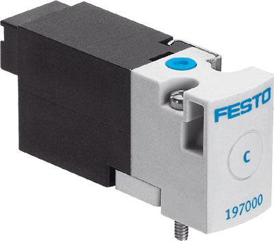 Распределитель с электроуправлением Festo MHA1-M4H-2/2G-0,9-HC