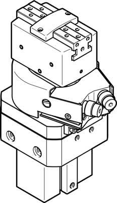 Модуль линейно-поворотный Festo HGDS-PP-20-P-A-B