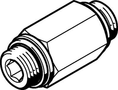 Обратный клапан Festo H-3/8-B