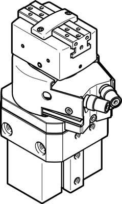 Модуль линейно-поворотный Festo HGDS-PP-16-P-A-B