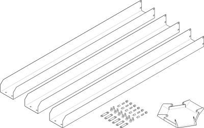 Набор крышек Festo EASC-E10-95