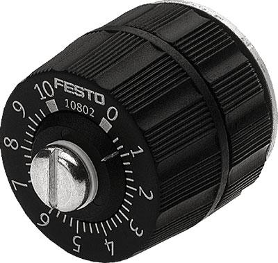 Прецизионный дроссель с обратным клапаном Festo GRP-10-PK-3