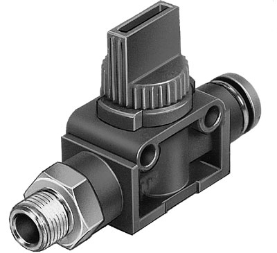 Отсечной клапан Festo HE-2-1/4-QS-8