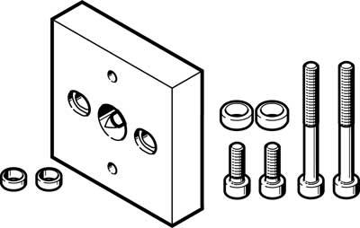 Адаптерная плита Festo DHAA-G-Q5-16-B6-14