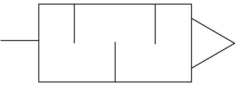 Глушитель латунный ниппельный Festo 4646 U-PK-3 (комплект 10 шт) пневмосхема