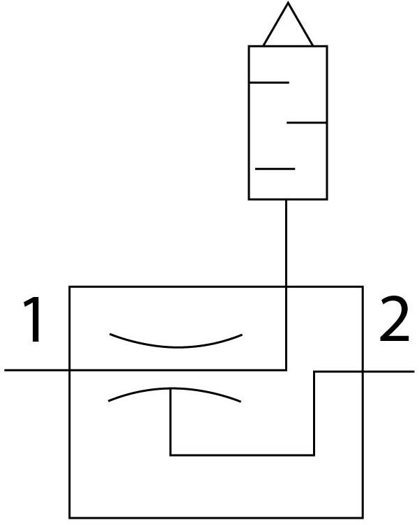 Эжектор базовый вакуумный пневматический Festo 193541 VN-07-M-T3-PQ2-VQ2-RO1 пневмосхема