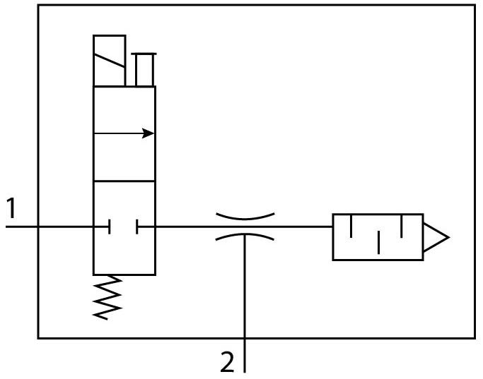 Эжектор базовый вакуумный электро-пневматический Festo 532627 VN-07-L-T3-PQ2-VQ2-RO1-M пневмосхема