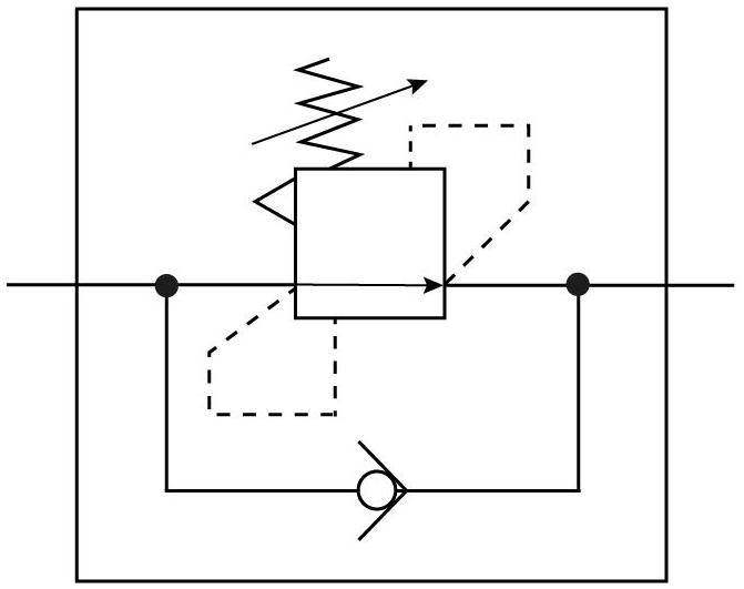 Клапан регулирования перепада давлений Festo 153502 LRLL-1/4-QS-6 пневмосхема