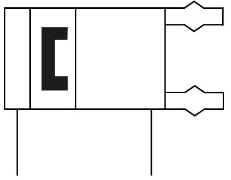 Захват параллельный герметичный Festo 1132939 HGPD-20-A пневмосхема