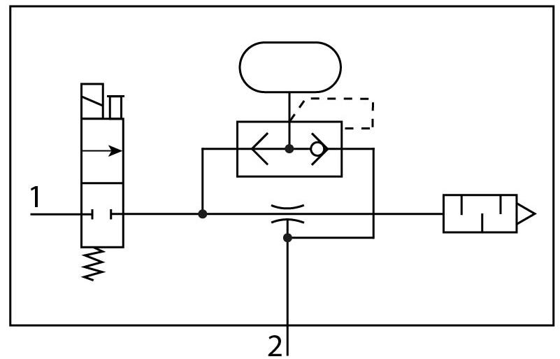 Эжектор базовый вакуумный электро-пневматический Festo 532640 VN-10-H-T3-PQ2-VQ2-RO1-B пневмосхема