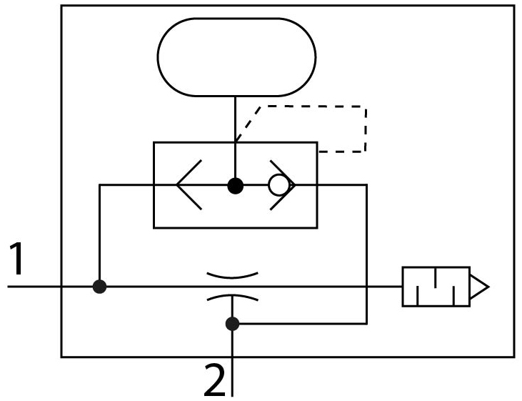 Эжектор базовый вакуумный пневматический Festo 532621 VN-05-L-T3-PQ2-VQ2-RO1-A пневмосхема