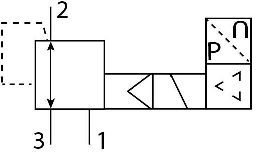Пропорциональный регулятор давления Festo 571296 VPPM-8L-L-1-G14-0L6H-V1P пневмосхема